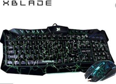 TECLADO GAMING XBLADE / MOD. AVERNUS / GXB KM410L / COMBO TECLADO + MOUSE / ILUMINADO (cat: TECLADO marca: XBLADE)