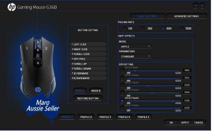 GAMING MOUSE G360