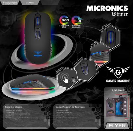 MOUSE MICRONICS WINNER (MIC M802)