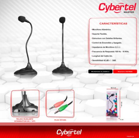 STEREO CYBERTEL Master CYB P800