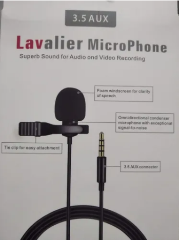 LAVALIER MICCROPHONE (JH-043)