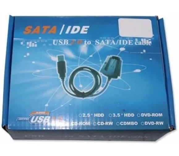 ADAPTADOR SATA A IDE USB 2.0