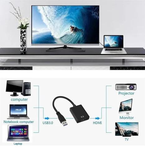 ADAPTADOR DE USB A HDMI