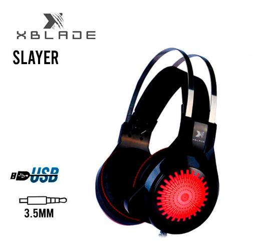 AUDÍFONO GAMER XBLADE SLAYER (GXB-HG8935)